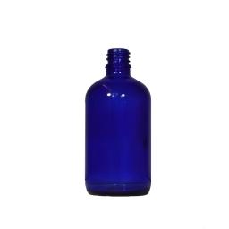 Bouteille de 30ml bleue - sans bouchon